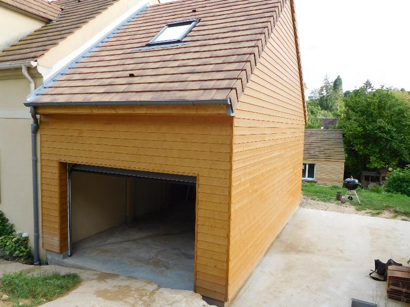 Boisphere couverture zinc 95 for Recours architecte extension garage